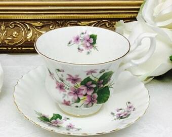 Royal Albert teacup and saucer.