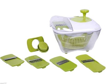 Mandolin kitchen multifunction wringer any vegetable 4 grids