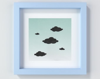 Nursery Print, Cloud Print, Baby Boy, Baby Girl, Nursery Decor, Baby Gift, Gender Neutral, Baby Shower Gift, New Baby Gift, Present for Baby