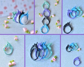 Unicorn Friendship Rings