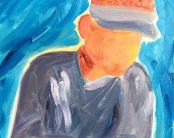 16x20 Oil Portrait
