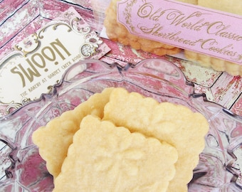 Classic Shortbread Cookies Gift Box ~ Scottish Shortbread ~ Traditional Shortbread ~ Plain Shortbread