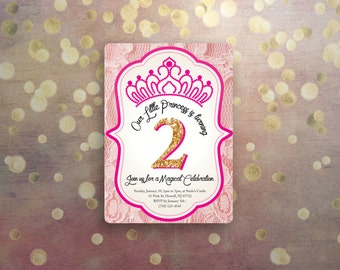 Princess Birthday Lace