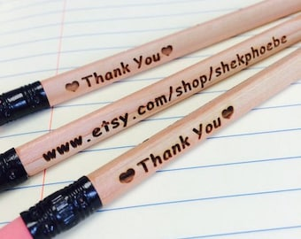 12 Personalized Pencils - Personalized Pencils, Custom Pencils, Engraved Pencils, Personalized Pencils for Kids