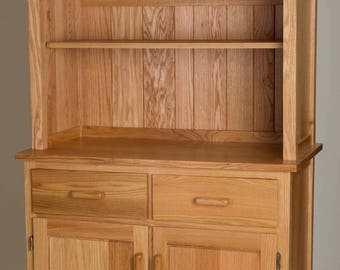Red Oak Hutch