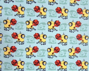 Minions Fabric From Quilting Treasures