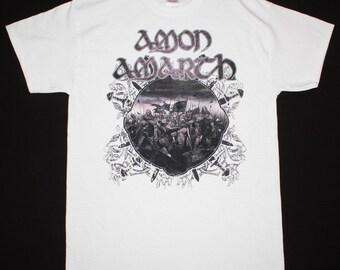 Amon Amarth Battle white t shirt