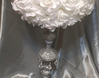 Glitz and Crystal Bling Centerpiece