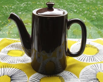 Royal Worcester coffee pot, vintage, retro