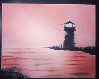 Light House on the Sea