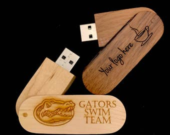Customized Wood Pen Drives