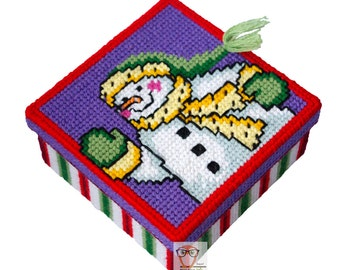 Plastic canvas patterns Christmas, free cross stitch pattern pdf, box plastic canvas ideas, holiday embroidery chart plastic canvas books