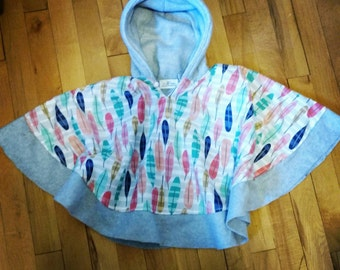 Car Seat Safe Winter Poncho (made to order)
