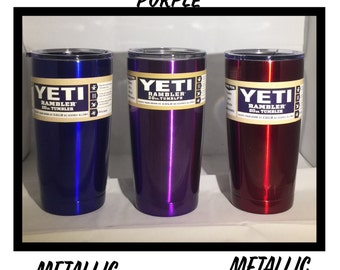 Color Yeti 20 Ounce - Laser etched