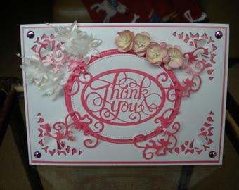 Thank You Card/Handmade