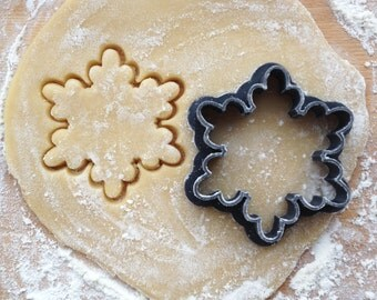 Snowflake cookie cutter. Christmas cookie cutter