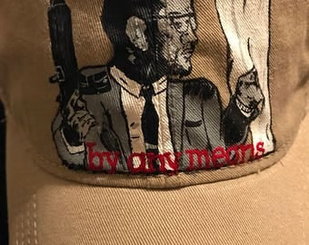 "Malcolm X ""by any means"" dad hat"