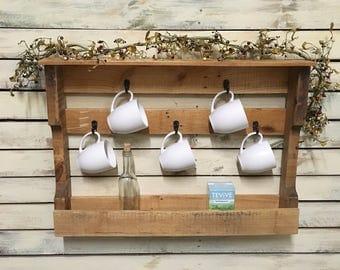 Bread Box Corner Large with Shelf FREE SHIPPING Shabby