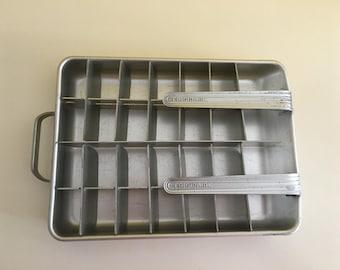 Vintage Frigidaire Double Aluminum Ice Cube Tray