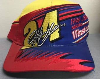 Vintage Jeff Gordon Winston Cup Snap Back.