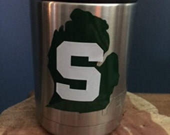 Michigan State decal, college decal, MSU