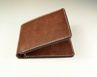 Kangaroo Leather Wallet in Brown Color, Leather Wallet, Slim Wallet, Men's Wallet, Kangaroo Leather Wallet, Bi-fold Wallet