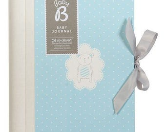 BABY B BOY JOURNAL, baby gift, baby shower
