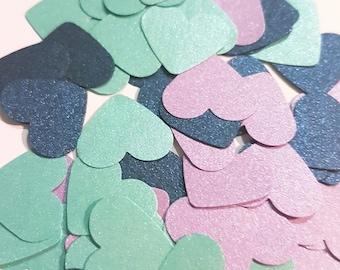 Frozen Inspired Heart Confetti