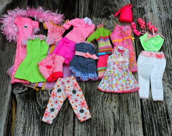 Regal Rose Day To Night Wear Vintage 80s Barbie Doll Clothing Lot Tops Pants Dresses Shoes Outfits Clothes