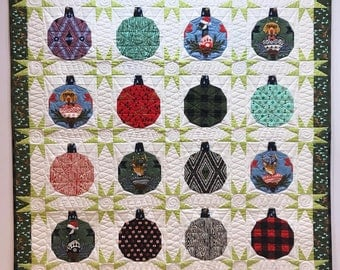 NEW***Hanging Out With The Homies Quilt Kit featuring Holiday Homies by Tula Pink