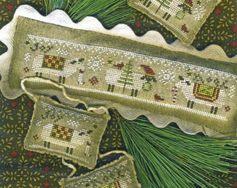 Merry Eweies by Homespun Elegance Counted Cross Stitch Pattern/Chart