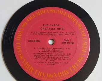Vinyl Record Magnet - The Byrds Greatest Hits