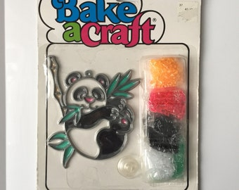 Vintage Kids craft kits new in package Bake A Craft Air Art Blitzer