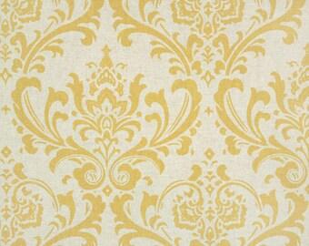 1 yard Premier Prints Traditions Corn Yellow-Linen
