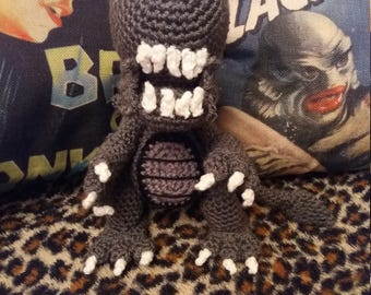 crochet cute xenomorph aliens quirky unusual gift