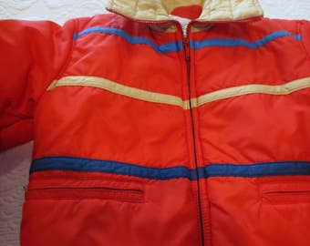 Vintage Retro Ski Coat By Swing West