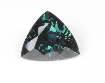 3.64ct Trillion Blue/Green Sapphire (Teal)