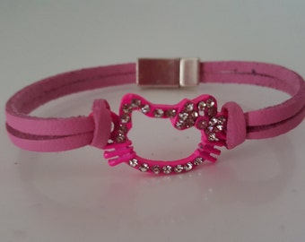 "Bracelet girl ""PRETTY CAT"""