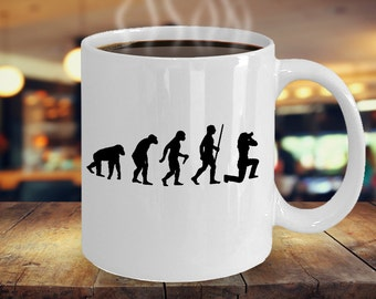 Photographer Gift, Photographer Mug, Photography Mug, Photographer Cup, Evolution of the Photographer - Funny Birthday Gift for Her