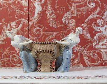 Circa 1900 jugendstil centerpiece pottery art nouveau centerpiece Eichwald?