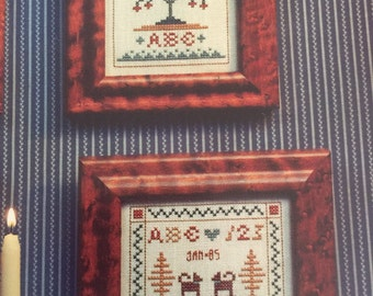 Miniature Samplers II for Christmas and All Year by HomeSpun Elegance counted cross stitch