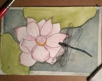 Original Art - The Jewel in the Lotus