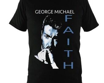 George Michael Faith T-Shirt T-Shirt Unique Gift