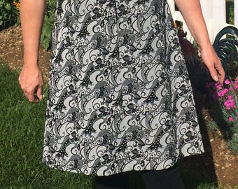 Super Groovy 1970s Polyester House Dress
