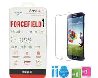 Samsung Galaxy S4 Tempered Glass Screen Protector Designed by Offinstyle | Forcefield1 Iron Edition