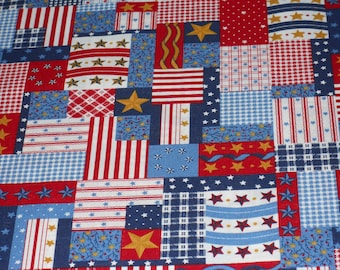 Stars And Stripes Patchwork Look