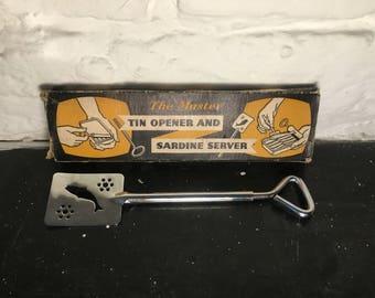 The Master Sardine Tin Opener and Server