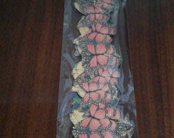 Martha Stewart Crafts  | Die-Cut Border Stickers | Butterflies 20pc