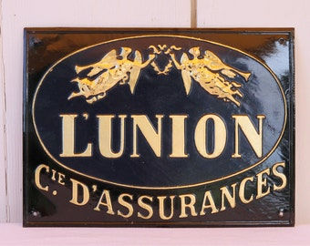 French vintage sign - L'Union medium