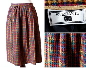 Vintage Women's Skirt - 80s Stefanie 12P